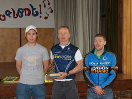 Martin Smith (awcycles.co.uk) wins Club Open Road Race