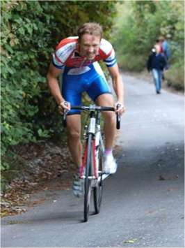 Michael Leonard SMITH  (Team Milton Keynes) Wins Hill Climb