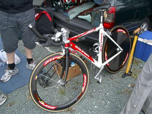 Keith Coffey's TT Bike